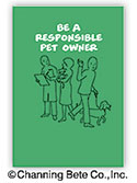Be a Responsible Pet Owner Booklet